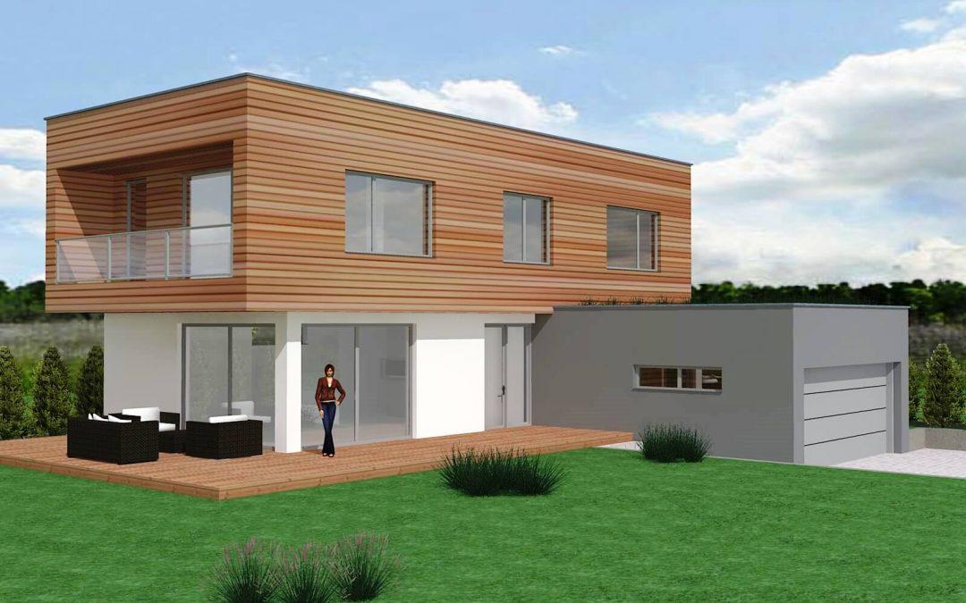 Projekty novostaveb rodinných domů